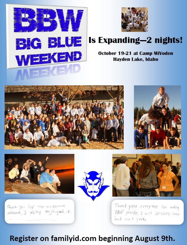 Big Blue Weekend